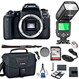 Canon EOS 77D Body Only + 32GB Memory + Camera Bag + TTL Speed...