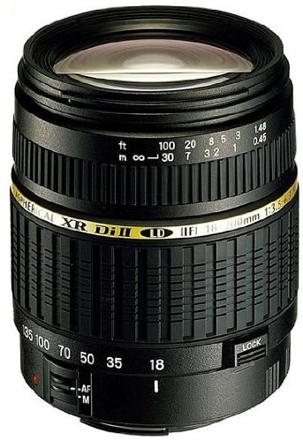 Tamron Auto Focus 18-200mm f/3.5-6.3 XR Di II LD Aspherical (IF) Macro Zoom Lens for Canon Digital SLR Cameras (Model - Lens A14