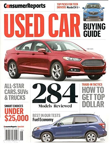 Download Used Car Buying Guide 2016 (Consumer Reports) PDF
