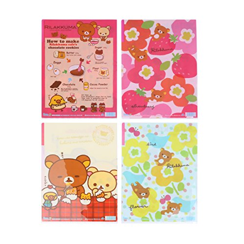 Damara Lovely Print Tags 3 Pockets Report Covers Letter Size,4 Sheets Per Set