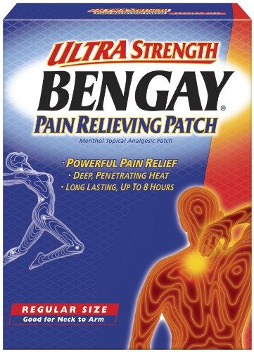 Patch Bengay soulager la douleur, Force Ultra, format régulier, 5-Count correctifs
