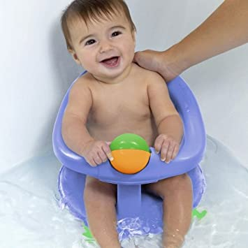 Safety 1st Swivel Bath Seat - Pastel Blue: Amazon.co.uk: Baby