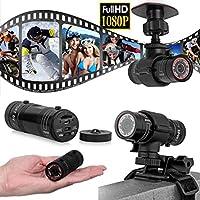 IkevanIkevan Full HD 1080P DV Mini Waterproof Sports Camera Bike Helmet Action DVR Video