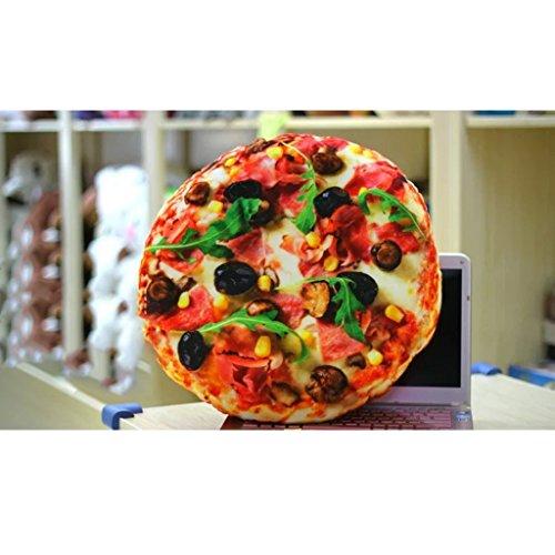 Yang baby Cojín Throw Pillow Hamburger Pizza Plush Snack ...