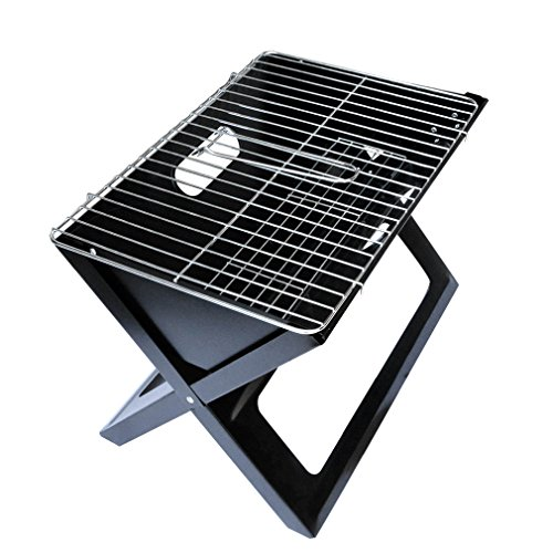 Onlyfire Foldable and Portable Compact Notebook Charcoal BBQ X-grill Image