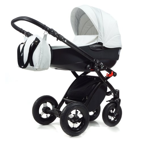 schwarz-lemon Knorr-Baby 3100-01 Kombikinderwagen Voletto Sport