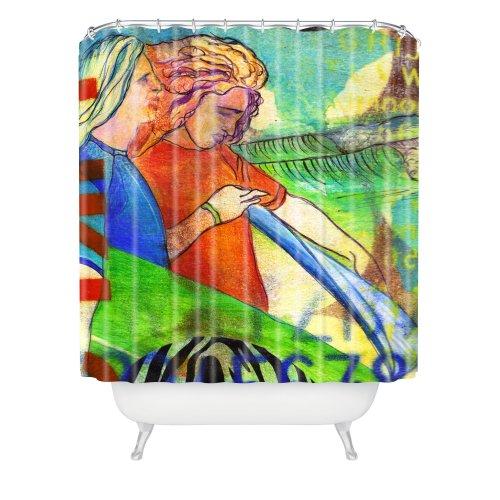 Deny Designs Sophia Buddenhagen Surfers Shower Curtain, 69