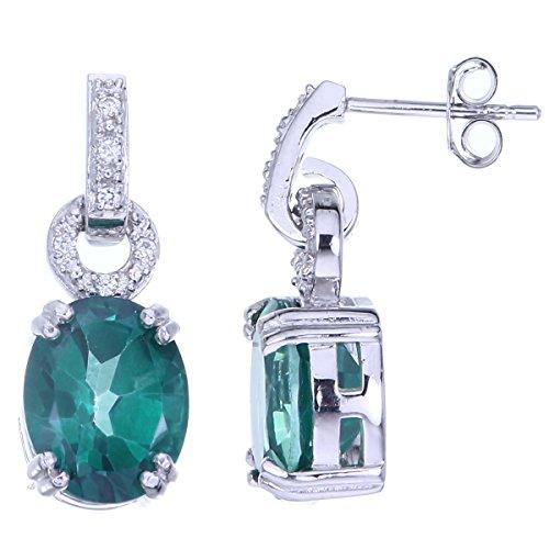 Green Topaz Earring - 2