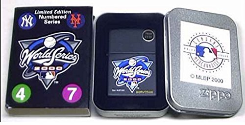 New York Yankees 2000 World Series Zippo Cigarette Lighter ()