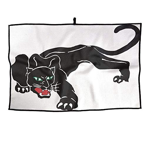 (HenSLK Black Panther Leopard Grid Microfiber Cooling Golf Towel Light Weight & Quick Drying & Super Absorbent Sport Travel Towel for Activities)