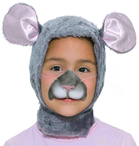 Rat Face Costume (Forum Novelties Child Size Animal Costume  Mouse Hood and Nose Mask)