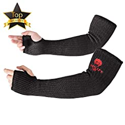 Kevlar Sleeves Arm Protection Sleeves wi...
