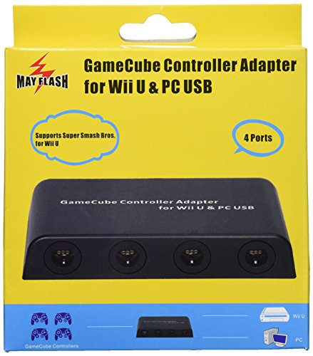 Mayflash GameCube Controller Adapter For Wii U, PC USB And