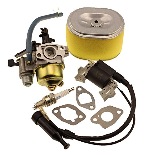HIPA Carburetor with Igntion Coil Spark Plug Air Filter for HONDA GX160 GX200 Engine (Rototiller Tires compare prices)