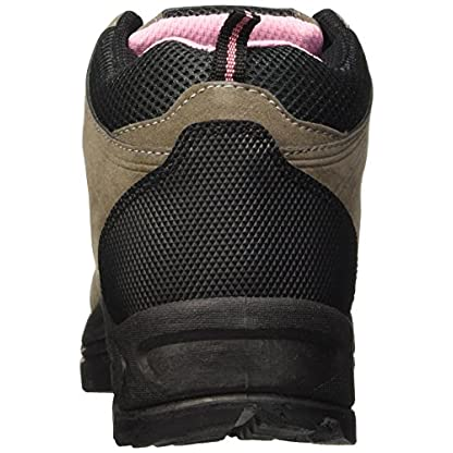 Dek Womens Hiking/Walking/Trekking Ankle Boots Grey/Pink 3