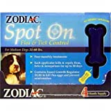 Zodiac Spot on Flea and Tick Control for Dogs 31-60 Pounds, 4-Month Supply, My Pet Supplies