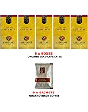 Organic Coffee Organo Gold Gourmet Cafe Latte 5 Boxes (20 sachets per Box) only AUD1.48 per Sachet