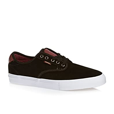 Vans Chima Ferguson Pro (Black/Mahogany) Mens Skate Shoes-6.5