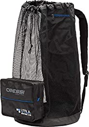 Cressi Heavy Duty Mesh Backpack 85 liters Capacity for Snorkeling, Water Sport Gear - Utila: Designed in Italy