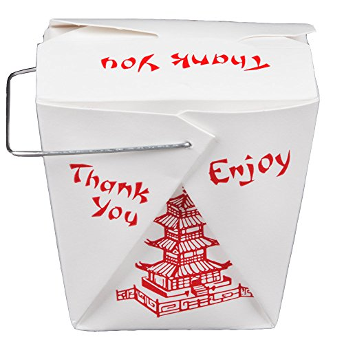 Party Favor Chinese Take Out Boxes : Pack of chinese take out boxes pagoda oz quart