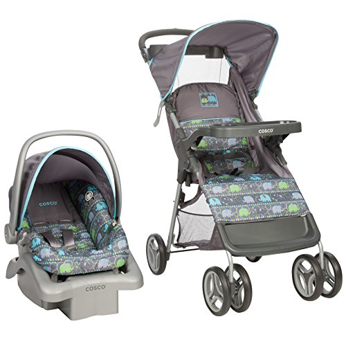 Cosco Lift and Stroll Travel System, Elephant Circus