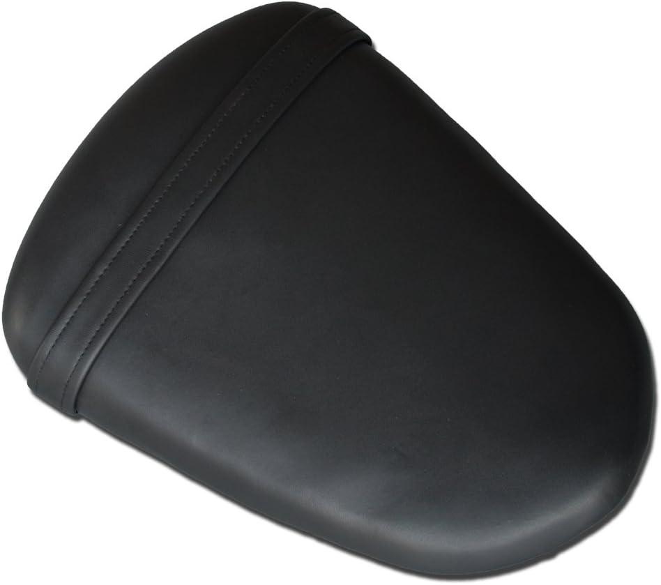 PROMOTOR Black Leather Rear Seat Passenger Pillion for SUZUKI K9 GSXR 1000 2009-2014