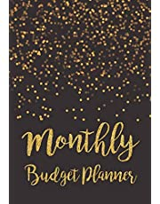 Monthly Budget Planner: Expense Finance Budget By A Year Monthly Weekly & Daily Bill Budgeting Planner And Organizer Tracker Workbook Journal | Black Gold Design
