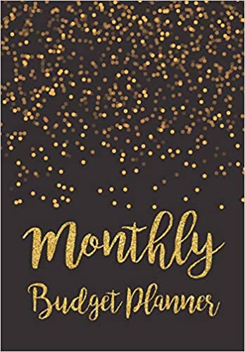 Expense Finance Budget By A Year Monthly Weekly /& Daily Bill Budgeting Planner And Organizer Tracker Workbook Journal Black Gold Design Monthly Budget Planner