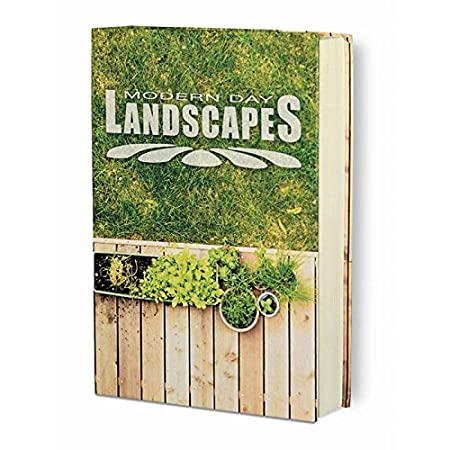 Landscapes 6.13 x 8.31 x 1.75 Inches 221269202 MMF Industries Real Feel Book Safe