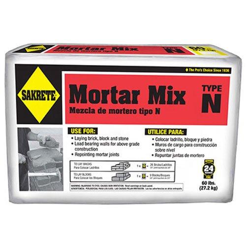 SAKRETE OF NORTH AMERICA 65306214 Type N Mortar Mix, 60 lb