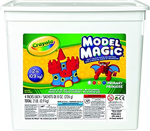 Crayola 574415 Model Magic Modeling Compound, 8
