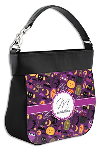 Personalized Front Purse w Halloween Trim Back Genuine Hobo Leather amp; Y5xqzA