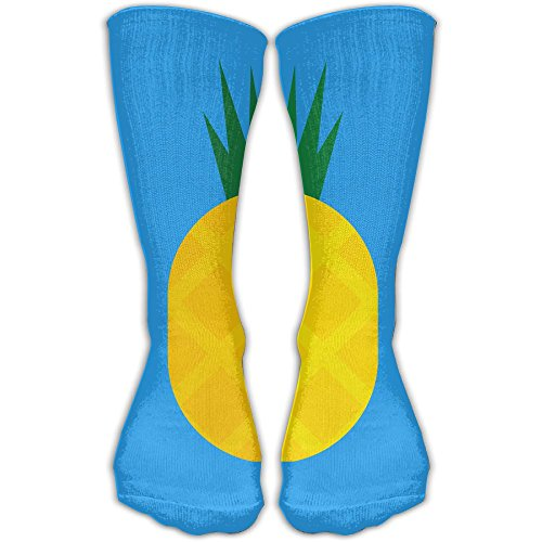 Yellow Pineapple Unisex Performance Crew Socks Protect The Wrist For Cycling Moisture Control Elastic Socks 11.8inch]()