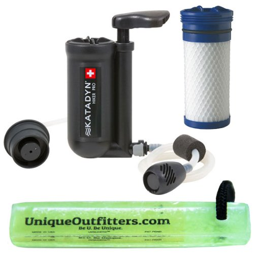 Katadyn Hiker Pro Microfilter w/ Hiker Pro Replacement Cartridge - Hiker Pro Replacement Filter