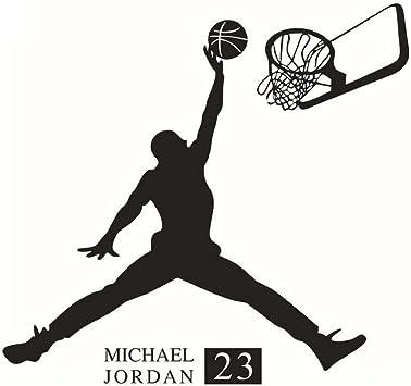 Winhappyhome baloncesto muchacho de la manera etiqueta de la pared ...