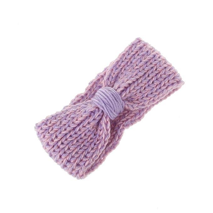 Lovinda Baby Hut Haarband Winter Zweifarbige Wicklung Stricken