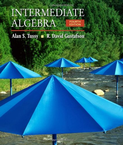Intermediate Algebra (Available 2010 Titles Enhanced Web Assign)
