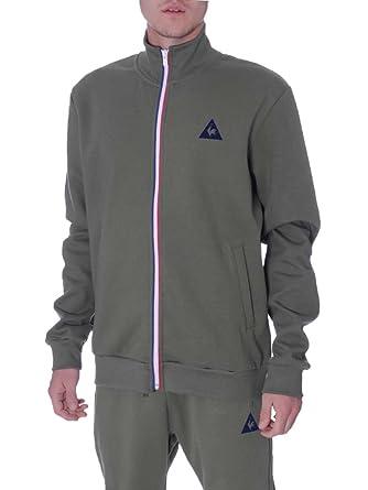 Le Coq Sportif Sweat Homme Vert  MainApps  Amazon.fr  Vêtements et  accessoires 9b222e901e1d