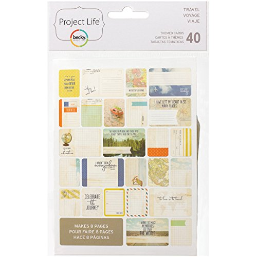 Project Life 718813977135 Themed Card, Travel ()