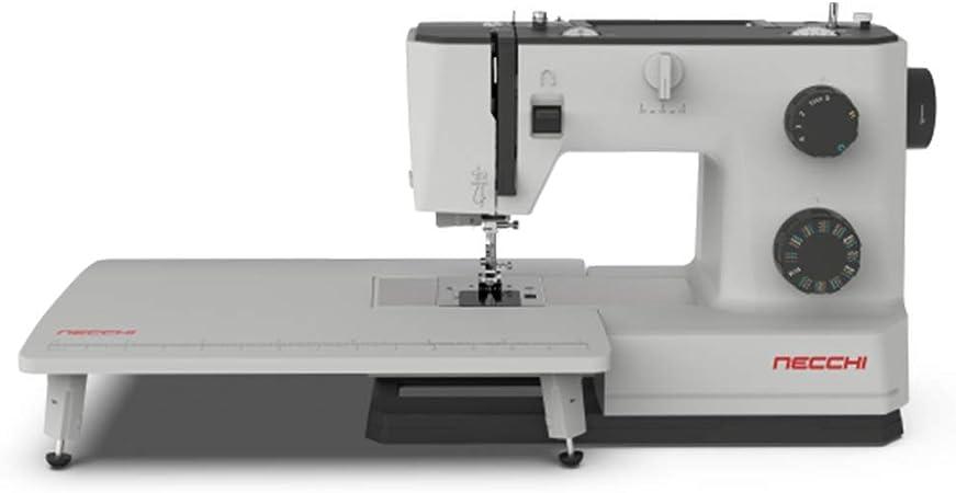 Heavy Duty Performance Necchi Q132A Sewing Machine Automatic Needle Threader 32 Stitch