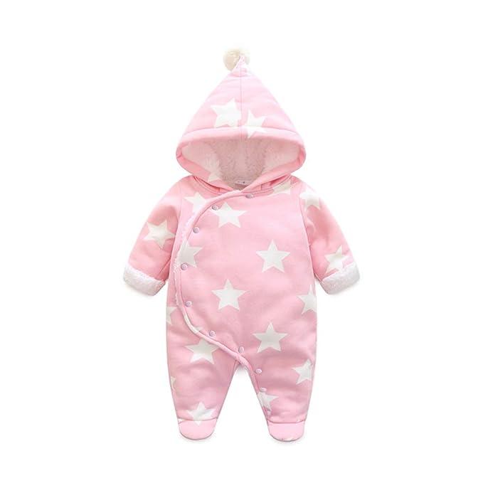 4add61f7e Fairy Baby Newborn Boys Girls Romper Outwear Winter Thick Warm Hood ...