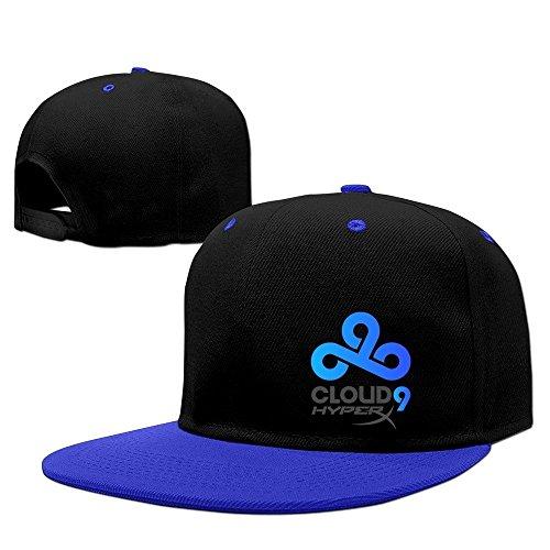 Price comparison product image LOL Cloud 9 HYPERX Logo Men Adjustable Baseball Snapback Hat RoyalBlue
