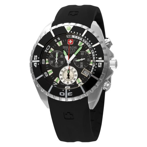 (Swiss Military Hanowa Men's 06-4096-04-007 Chronograph Sealander Dive Watch )