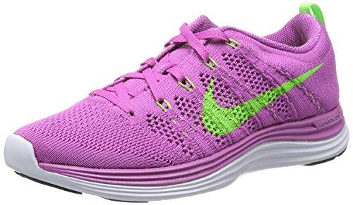 Electric Women's M Shoe White EU 5 UK One Pink 5 Running Green B 39 B Club Nike Flyknit M 0w7Iqx0d