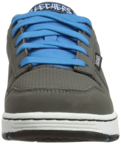 Skechers EndorseSkate Game - Caña baja de cuero niño gris - Grau (CCLB)