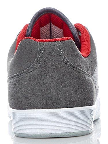 És Schuh Swift 1.5 Grau-Light Grau-Rot (46 Eu / 12 Us , Grau)