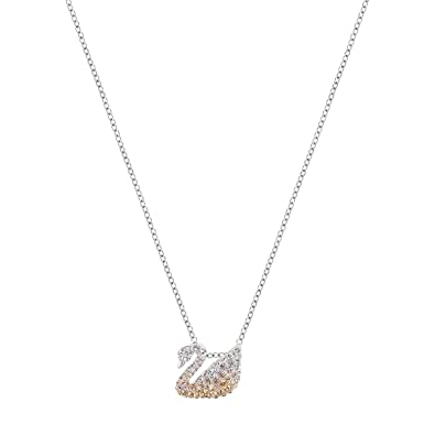Image Unavailable. Image not available for. Color  Swarovski Iconic Swan  Pendant ... ae28398aa32