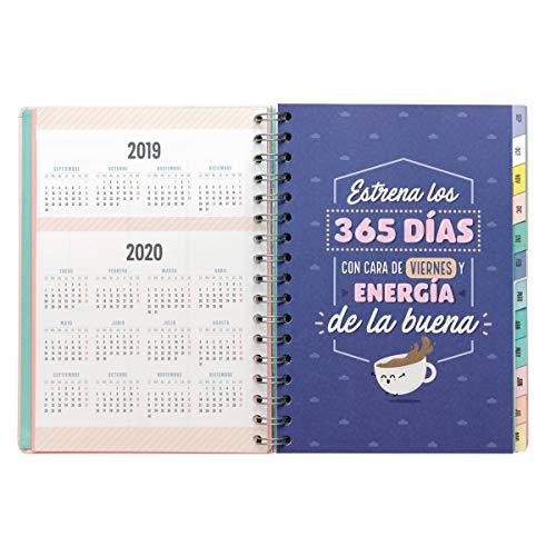 Amazon.com : Classic Large Agenda 2019-2020 Week to View ...