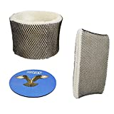 HQRP Wick Filter for Bionaire W12 W14 W15 W12UC BCM3656 BCM3656UM BCM3855C BCM3600 BCM3955 Humidifier + HQRP Coaster