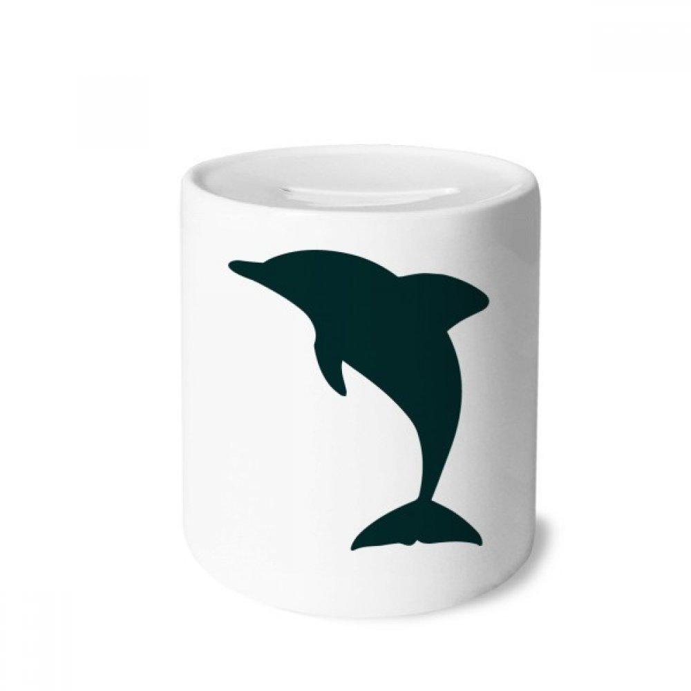 DIYthinker Blue Ocean dóciles Lindo Dolphin Caja de Dinero de Las Cajas de ahorros de cerámica Adultos Moneda de la Caja para niños
